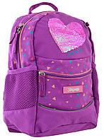 Рюкзак детский 1 Вересня K-20 Girl dreams Фиолетовый 556519, КОД: 1259293