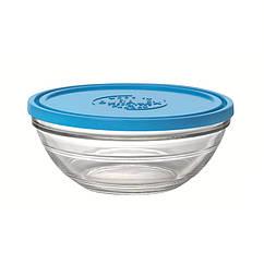 Миска-салатник-контейнер с крышкой Duralex Lys Frashbox 23 см 2400 мл 9068AM06, КОД: 1462645