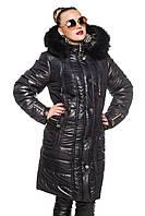 Зимняя женская куртка длинная.