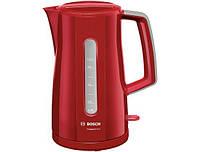 Электрочайник 2400Вт Bosch 3A014TWK 1,7 л Красный
