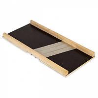 Шинковка деревянная 39*17.5*2.5см  Kamille на 3 ножа