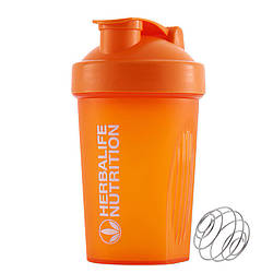 Спортивная бутылка-шейкер Lesko HC752 400ml Оранжевый 4908-14354, КОД: 1876090