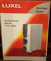 Масляный обогреватель Luxel 11 секций Luxel Oil-Filled Heater Nsd-200 11 Fins 2000W
