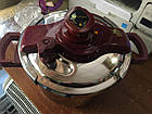 Скороварка нерж сталь 6л+пароварка  Lessner 55300 диаметр 22 см , фото 5
