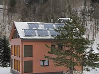 Солнечные коллектора (монтаж в Яремче)