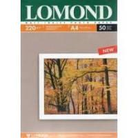 Фотобумага Lomond  матовая двусторонняя, 220 г/м Код 0102144