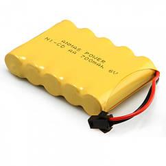 Аккумулятор Limskey Ni-Cd 6V 700 mAh Желтый, КОД: 1332025