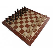 Шахматы магнитные интарсия Madon 35х35 см 64-SAN001, КОД: 1299372