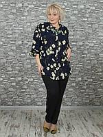 Женская блузка NadiN 1613 1 60 Синяя, КОД: 1548916