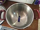 Скороварка нерж сталь 6л+пароварка  Lessner 55300 диаметр 22 см , фото 7