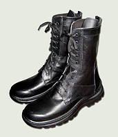 Ботинки «ОМОН» (кожа, подошва полиуретан, прошиты) р.46