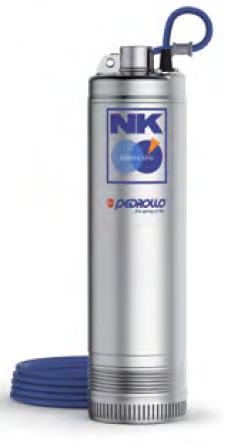 Моноблочные погружные насосы PEDROLLO серия NK