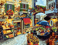 Картина по номерам Brushme Домашний ресторанчик 40х50 см GX7091, КОД: 1318397