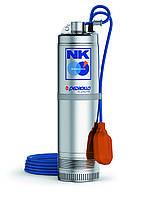 NKm 4/5-GE колодезный моноблочный  многоступенчатый насос с поплавком (однофазный)
