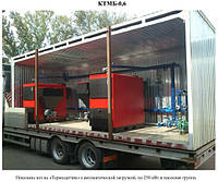 Котельная транспортабельная блочно-модульная