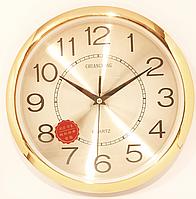 Часы настенные круглые с переливающимся циферблатом( 300 мм )