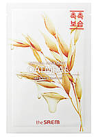 Маска для лица с овсянкой The Saem Natural Oatmeal Mask Sheet 21 мл 8806164158876, КОД: 1839606
