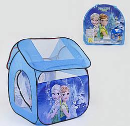 Палатка Small Toys 8009 FZ-B Синий 2-78936, КОД: 1249111
