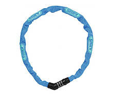 Велозамок ABUS 4804C 75 Steel-O-Chain Blue 716164, КОД: 1090360