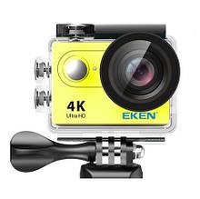 Видеокамера Eken H9R Ultra HD с пультом Желтый acekenh9rye, КОД: 1347486