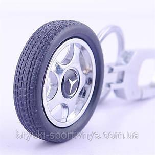 Брелок  в форме колеса с логотипом Mercedes Benz, фото 2