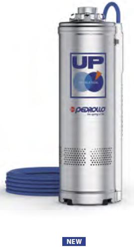 Моноблочные многоступенчатые погружные электронасосы PEDROLLO серии UP