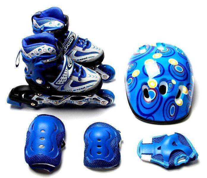 Купить Роликовые коньки и лыжероллеры, Набор роликовые коньки Happy 34-37 Blue 979210876-M, КОД: 1197994