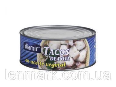 Осьминог DIAMIR в подсолнечном масле Diamir Rodajas de pota en aceite de girasol 950 г