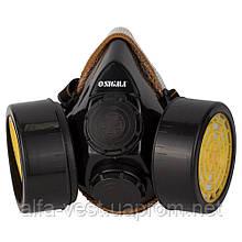 Респиратор с угольным фильтром (2 фильтра) SIGMA (9422211)