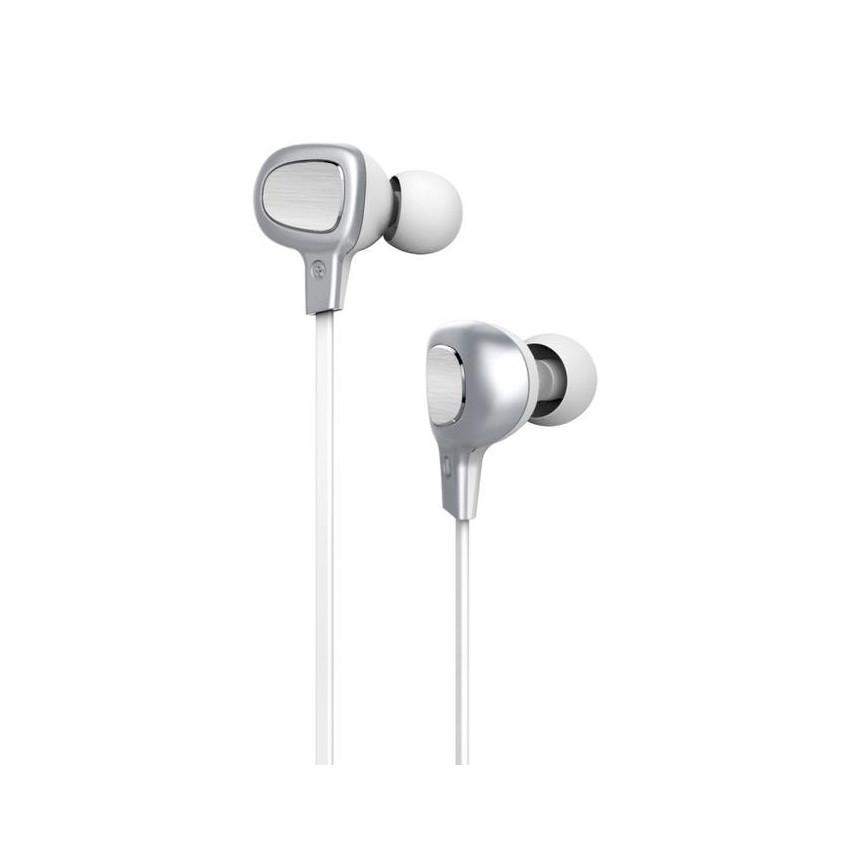 Bluetooth Наушники Baseus B15 Seal Silver/White (NGB15-02)