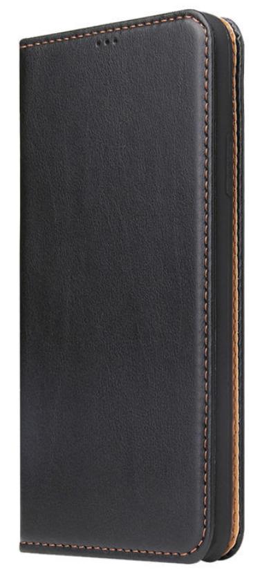 Кожаный чехол-книжка для iPhone 11 (6.1'') черный