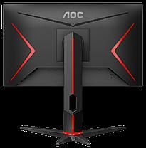 "Новый монитор AOC 24G2U5/BK / 23.8"" (1920x1080) IPS WLED / 2x HDMI, DP, VGA, USB, 2x Audio Ports / встроенные, фото 3"