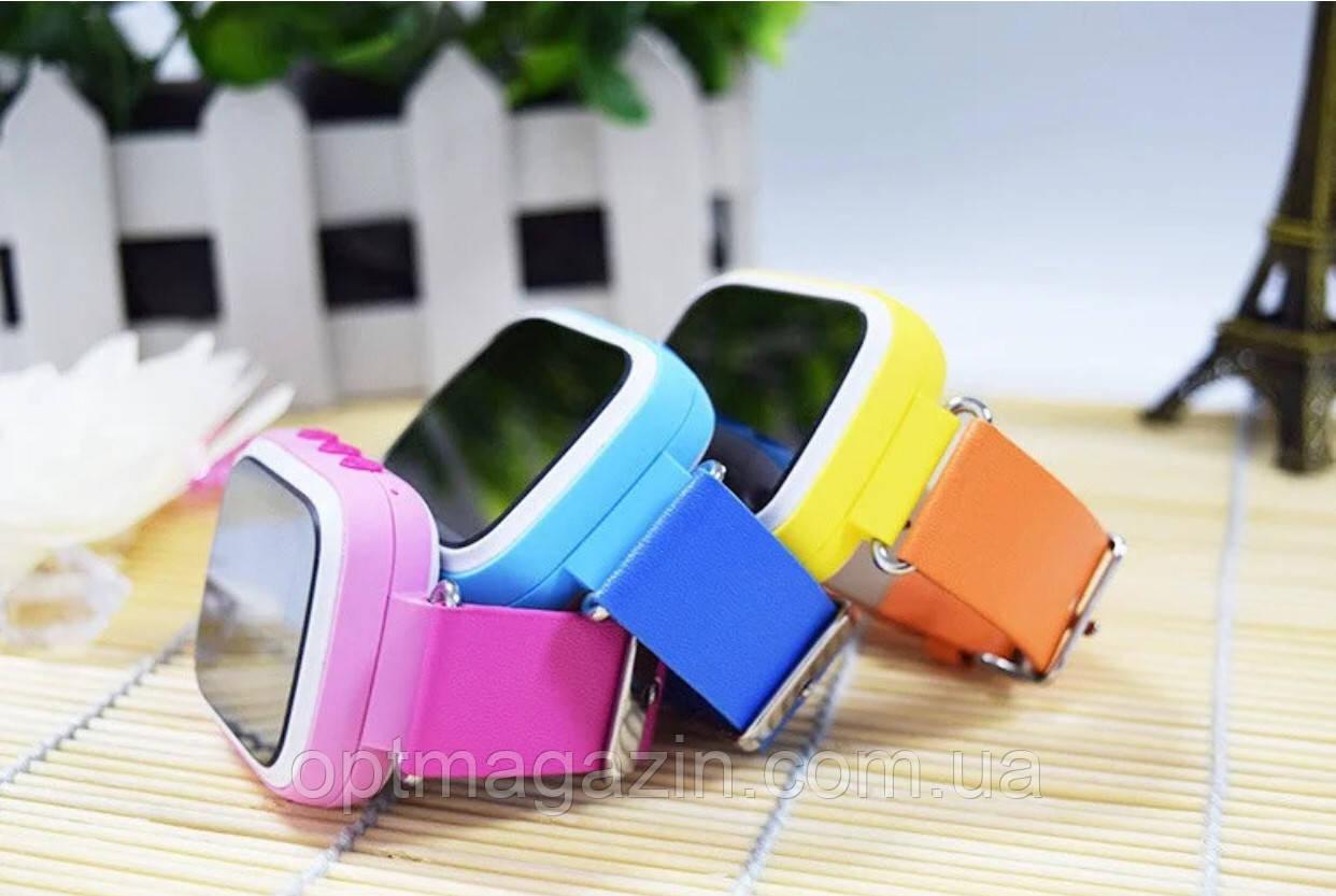 Дитячі розумні годинник телефон Smart Baby Watch Q80 c GPS