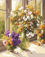 """Картина по номерам """"Полевые цветы"""""""