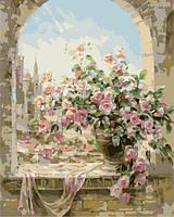 """Картина по номерам """"Розы для любимой""""  Dreamtoys"""
