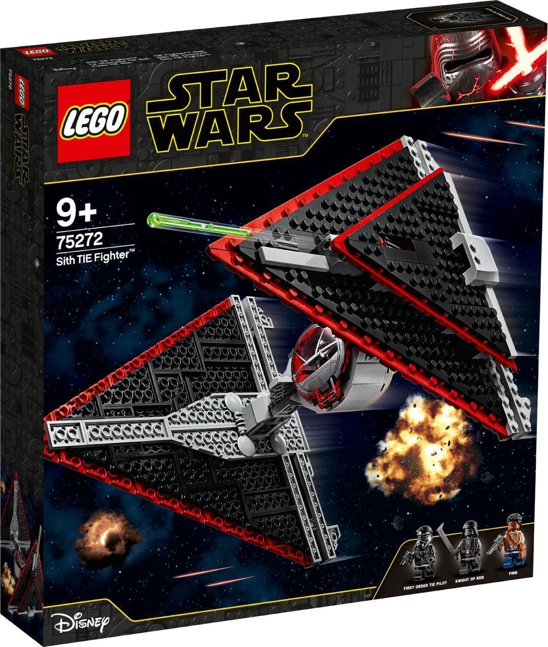 Lego Star Wars Истребитель СИД ситхов Лего Стар Варс 75272