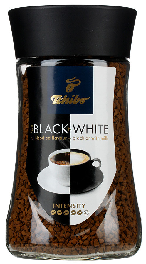 "Кофе растворимый Tchibo BLACK & WHITE 200гр. - Интернет-магазин ""Тиана"" в Киеве"