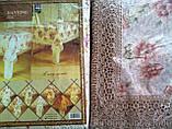 Скатерть цветочная  152-152  круг., фото 2