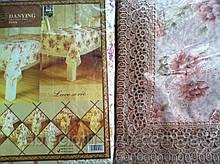 Скатерть цветочная  150-220