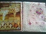 Скатерть цветочная  150-220  oval, фото 2