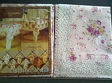 Скатерть цветочная  120-152