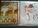Скатертина квіткова 152-152 коло., фото 4