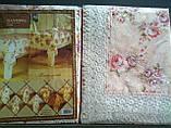 Скатерть цветочная  150-220  oval, фото 4