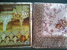 Скатерть цветочная  130-182