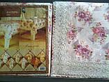 Скатерть цветочная  150-220  oval, фото 6