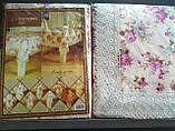 Скатертина квіткова 152-152 коло., фото 9