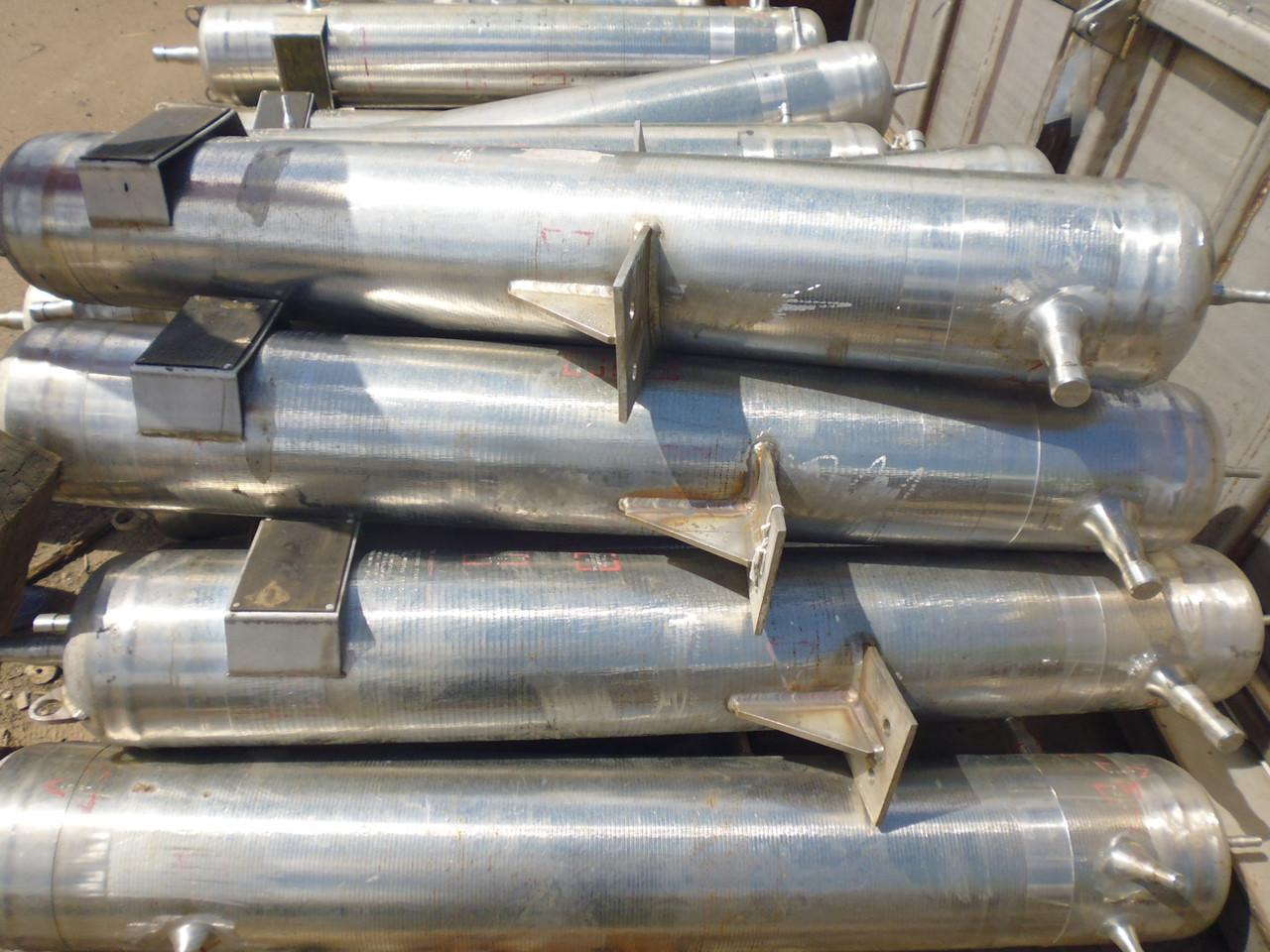 Баллоны высокого давления 2-х камерные, из н/ж стали, с хранения. - ООО «Компания Ромикс» в Киевской области