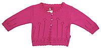 Лютик Кофта вязаная на пуговичках Лютик  розовый р.74 (шерсть70%*акрил30%)