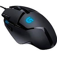 Мышь компьютерная игровая Logitech G402 проводная Black