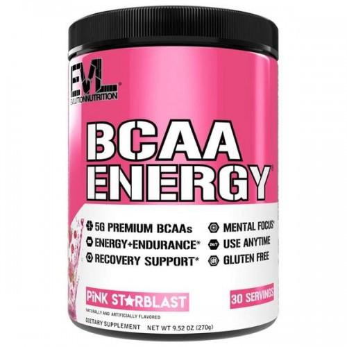 EVL Аминокислоты BCAA ENERGY 270 г Вкус: Pink starblast